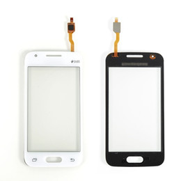 Wholesale S2 Duos - For Samsung Galaxy Ace 4 G313 G310 G313H Touch Screen Digitizer Galss With Duos, White Free Shipping