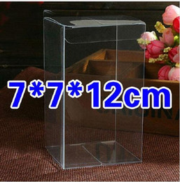 Wholesale Chinese Fruit Candies - 50pcs Transparent Clear Plastic Pvc Storage Box Packaging Boxes For Toys, candy, fruit, model toys, bread, cosmetics