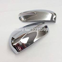 Wholesale Rearview Mirror Mazda - For 2015 Mazda CX-5 CX 5 CX5 ABS Chrome Door Side Wing Mirror Cover Rearview Mirror Protector Cover Car Styling Accessories