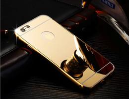 caixa do metal do oppo Desconto Caso defensor de metal para o iphone 7 6 s mais s7 s7 s7 note7 huawei P9 oppo r9 pc macio de volta + estrutura de metal Caso capa protetora híbrido de proteção GSZ099
