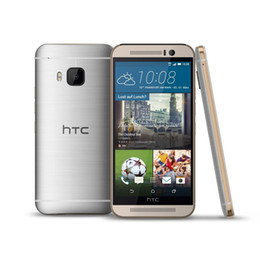 Wholesale One Android Smart Phone - Refurbished HTC ONE M9 Smart Phone Android5.0 Lollipop 5.0Inch Snapdragon 810 Quad Core 2G RAM 16G ROM 20.0MP Unlocked Phones