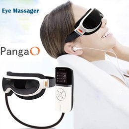 Wholesale Infrared Vibration Massager - Eletric Pangao Air pressure Eye Massager Vibration And Heating Function Dispel Eye Bags,Eye Magnetic Far-infrared Heater Device