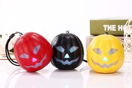 Wholesale Cycling Radio - Halloween pumpkin speaker Bluetooth Portable Stereo Speaker with Ultra Clear Sound for Outdoor Cycling Hiking Traveling