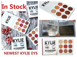 Wholesale Waterproof Matches Wholesale - Kylie Jenner's New Eyeshadow Palette Matches Her Hair The Burgundy Palette kylie kyshadow new palette Kylie Cosmetics 60pcs