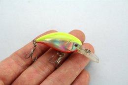 Wholesale Cheap Crankbait Lures - FISHING LURES CRANKBAIT HOOKS 4.6g 5.5cm HS10171-12G fishing lures crankbait Cheap fishing lures crankbait Cheap fishing lures crankbait