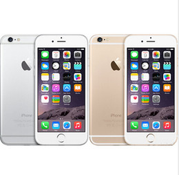 Wholesale Cell Gsm Unlock - Original Unlocked Apple iPhone 6 Plus Cell Phone 4.7''5.5''IPS 1GB RAM 16 64 128GB ROM GSM WCDMA LTE iPhone 6 iphone 6 Plus Mobile phone