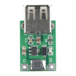 Wholesale 5v Boost - Wholesale-1pc DC-DC Converter Step Up Boost Module 2-5V to 5V 1200mA 1.2A for iphone Newest New Arrival Free Shipping