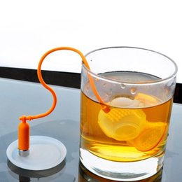 Wholesale Scuba Diver - Deep Tea Diver Silicone Tea Infuser Loose Leaf Tea Infuser Cute Scuba Diving Free Shipping WA0927