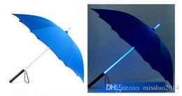 Wholesale Umbrellas Blade - Wholesale - free shipping 50pcs lot,Cool Blade Runner Light Saber LED Flash Light Umbrella,rose umbrella,bottle umbrella YS03