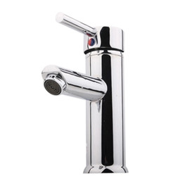 Wholesale Classic Brass Bathroom Faucets - Free shipping New Designed basin tap Brass faucet Bathroom Sink Lavatory Basin Faucet   mixer tap single Handel one hole