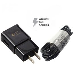 Wholesale Universal Wall Car Chargers - OEM Black Type-C Cable Car charger Adaptive Rapid Wall Fast Charger For Samsung Galaxy S8 S8+ Plus