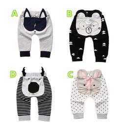 mucca di neonato Sconti Bambini animati svegli del bambino dei pantaloni del  ragazzo del ragazzo del b660e788328