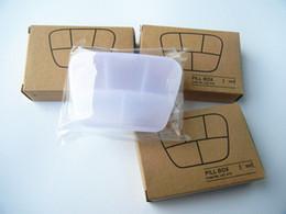 таблетки бесплатно Скидка Отсек Travel Pill Box Организатор Таблетки Держатель Для Хранения Медицины Держатель Здравоохранения Инструмент Бесплатная Доставка ZA4484