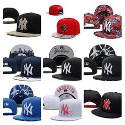 Wholesale Cheap Yankees Hats - Free Shipping Cheap Cap Yankees Hip Hop MLB Snapback Baseball Caps NY Hats MLB Unisex Sports New York Women Casquette Men Casual headware