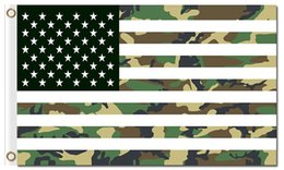 Wholesale Usa Flag Stripes - Professional Flag Manufacturer 90x150cm(36x60inch) 100D Polyester 3x5ft Banner With Metal Grommets Stars and Stripes USA Camouflage Flags