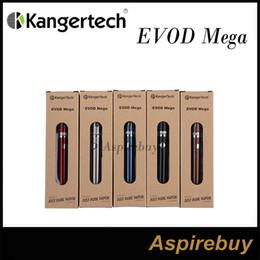 Kanger Evod Mega Kit 1900mah Evod Batería y Evod Mega Clearomizer Nueva bobina doble con 2.5 ml Atomizador Kangertech EVOD Mega doble bobina desde fabricantes