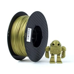 Wholesale Wholesale Bronze Wire - Latest metal standard material free shipping 3D printer supplies 1.75mm PLA material metal bronze gold silver wire 0.5kg