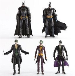 Wholesale Dc Toys - 7 inches NECA DC Comics Superhero Batman Superman The Joker PVC Action Figure Collectible Toy kids toy marvel
