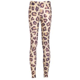 Wholesale Leopard Print Tight Pants - Women Fashion Leopard Galaxy Leggings Khaki Diving Pants Printed Sky Space Stretchy Breathe Christmas Warm Jeggings Slim Tights