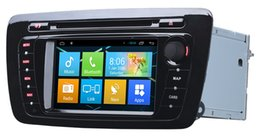 Wholesale Din Seat - D90-650 For Seat Car dvd Android 4.4 GPS Car Navigation Player With WIFI 6.2 Inch with Capacitive Screen In-dash Car PC Stereo