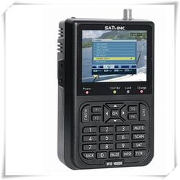 Wholesale Digital Satellite Sat Finder - 100% original brand new Digital satellite finder ws6906, satlink ws6906 ,sat finder meter ,digital satlink finder
