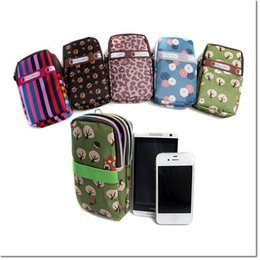 Wholesale S4 Bag - new desgin colorful grils armband 6 inch bag handbag waterproof print close bag for samsung S3 S4 S6 S7 iphone 5 6 6plus DHL free