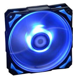 Ventilador ventilador rojo online-ID-COOLING AZUL / VERDE / ROJO / BLANCO LEDs 12cm PWM ventiladores PL-12025 para cajas de computadoras
