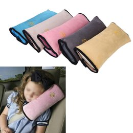 Wholesale Rear Child Seat - Universal Bay Child Car Cover Pillow Baby Shoulder Safety Belts Children Strap Harness Protection Seats Cushion Support order<$18no track