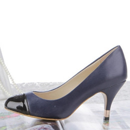 Wholesale elegent shoes - Free shipping A1362 size 35~40 office lady 3 colors upgrade design women pumps genuine leather high heel elegent pumps