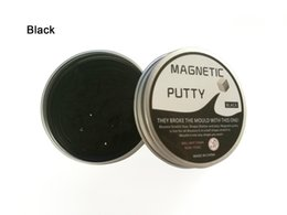 Salto de goma online-New Playdough Slime Magnetic Rubber Mud Pie Strong Plasticine Funny Putty Magneti Clay Imanes de Salto Novedad Juguetes Educativos