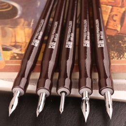 ensembles d'outils maîtres Promotion Japen Great Master Dip Pen Stylo plume Bandes dessinées professionnelles Bandes dessinées Dip Pen 5Shaft 5Nib Set
