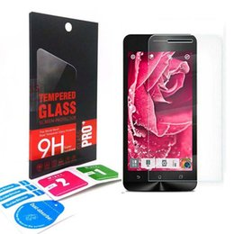 Wholesale Tempered Glass For Zenfone - 2.5D 0.33mm Tempered Glass Screen Protector Explosion proof Protective for ASUS 6 5 zenfone GO 5.5 T500 X003 ZE601 ZB551 ZD551 KL ZE551 ML