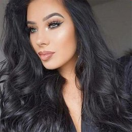 Wholesale Feelings Natural Hair - silk top 150 density lace front human hair wigs feeling glueless full lace human hair wigs