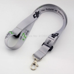 Wholesale Helicopter Futaba - DJI Phantom Remote Controller Strap Belt Sling Silver 2cm Width Color Printing for DJI Phantom JR Futaba Transmitter