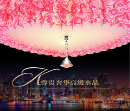 Wholesale Heart Ceiling Light - Wholesale Ceiling love fashion pink. pvc bedroom romantic heart-shaped lighting fixtures. Heart marriage room lights, 5pcs one package