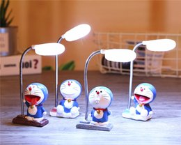 Wholesale Personalized Ornaments - Classic creative A Doraemon cat simple Nightlight resin crafts ornaments new personalized gifts large quantity of students