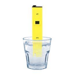 Wholesale Water Ph Test - Digital PH Meter Pen Tester Water Hydroponics Pocket Pen Testers Aquarium Pond Pool Test Protable new in stock
