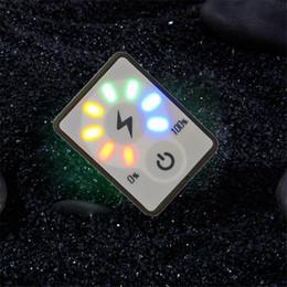 Argentina 2 unids / lote 4 S 15 V Indicador de Capacidad de la Batería de Litio DC Pantalla LED Digital de Batería de iones de Litio botón Táctil Interruptor Tester Detector Meter Suministro