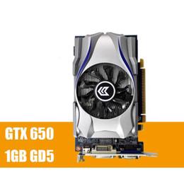 2019 видеокарта 1gb Видеокарта GTX650 1 ГБ DDR5 128 бит pci Express Placa de Video carte graphique видеокарта для Nvidia GTX бесплатная доставка дешево видеокарта 1gb