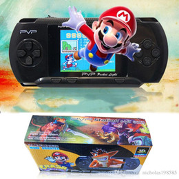 Wholesale Box Arcade Games - New Arrival Game Player PVP 3000 (8 Bit) 2.5 Inch LCD Screen Handheld Video Game Player Consoles Mini Portable Game Box Also Sale PXP3