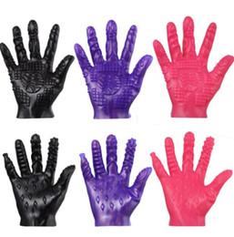 Wholesale Hot Massage Sex - Erotic Toys For Couples Massage Gloves Masturbat Gloves Gratification Stimulation Gloves Sex Products For Couples Orgasm Adult Toys Hot Sale