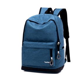sacos da lona da lona do estilo de japão Desconto Sacos de alta escola material de lona designer de alta qualidade mochila japão estilo saco 6 cor frete grátis