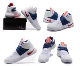 Wholesale Custom Made Satin Shoes - Hot Sale Basketball Shoes Kyrie Irving 2 II Custom Made Limited Edition Men Outdoor Sneakers Free Shipping