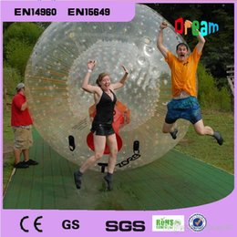 Wholesale Inflatable Human Body - Rolling Ball 2.5M 0.8mm PVC Inflatable Ball Human Hamster Ball Inflatable Body Zorb Ball