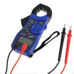 Wholesale Digital Ac Dc Clamp Meter - Digital Clamp Multimeter AC DC Voltmeter Ammeter Ohmmeter Tester LCD Meter B00333 SMAD