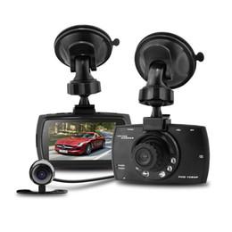 "Wholesale Hd Double Car Camera - G30B 5.0mega LCD 2.7"" Car DVR 1080P Dash cam recorder double camera night version Video Recorder dashcam"