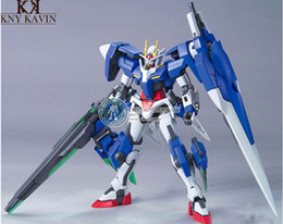 Wholesale Pvc Figure Gundam - Free shipping action figure robot anime Assembled gundam 1:144 TT Model Seven Swords original box Robot gundam HG00-61 HT899