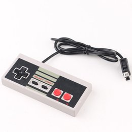Wholesale Wholesale Logo Game - Nes Game Controllers NES Classic Mini Controller Wired Game Controllers With Logo Gamepad Joysticks for Mini NES Classic Edition