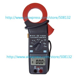 Wholesale Dc Meter Digit - Wholesale-Tenmars YF-8030A AC DC Clamp Meter,3-3 4 digit LCD with maximum reading of 4000