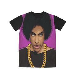 Wholesale Prince T Shirts - Real American USA Size Legendary Prince 3D Sublimation print T-Shirt Plus size